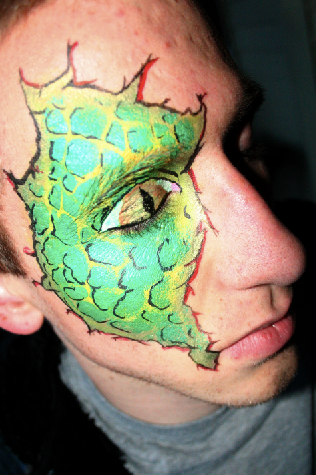 Book Your Halloween Costume Body Painting Now!