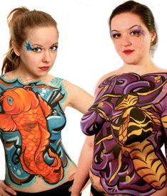Promotional Body Painting