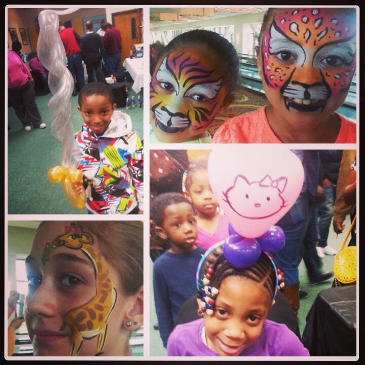 Face Painting & Balloon Twisting for Our Friends with Special Needs