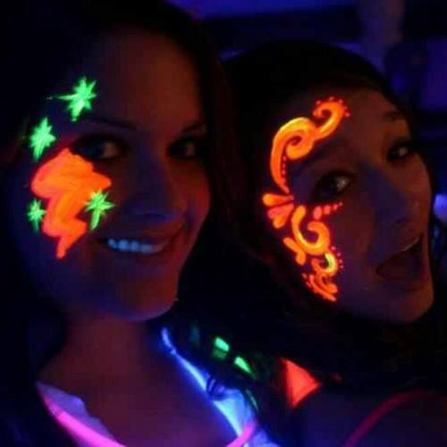 Party in the Dark with UV Face Painting and LED Balloon Twisting!