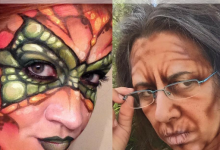 Body Paint: Airbrush vs. Hand Painting